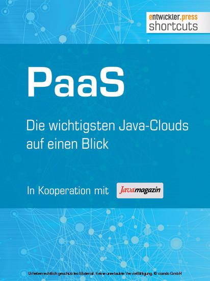 PaaS - Die wichtigsten Java Clouds auf einen Blick - Blick ins Buch