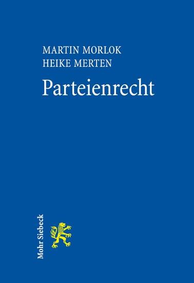 Parteienrecht - Blick ins Buch