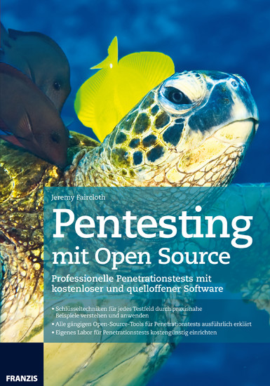 Pentesting mit Open Source - Blick ins Buch