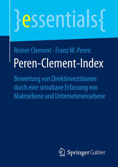 Peren-Clement-Index - Blick ins Buch