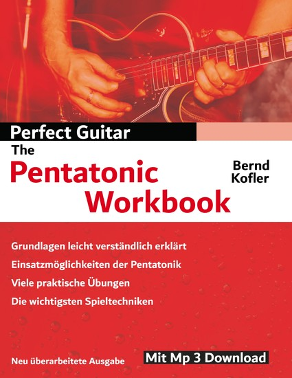 Perfect Guitar - The Pentatonic Workbook - Blick ins Buch