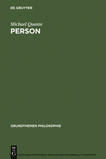 Person - Blick ins Buch