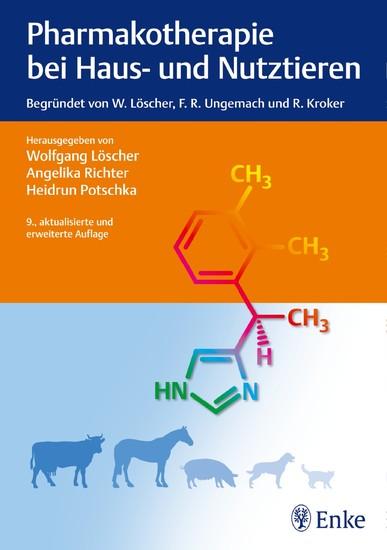 Pharmakotherapie bei Haus- und Nutztieren - Blick ins Buch
