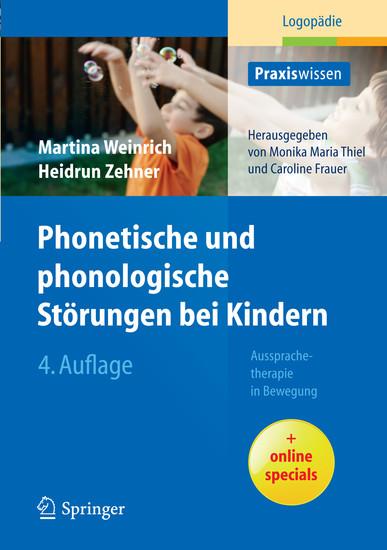 Phonetische und phonologische Störungen bei Kindern - Blick ins Buch