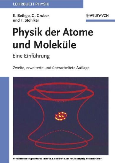 Physik der Atome und Moleküle - Blick ins Buch