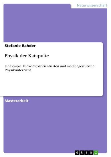 Physik der Katapulte - Blick ins Buch