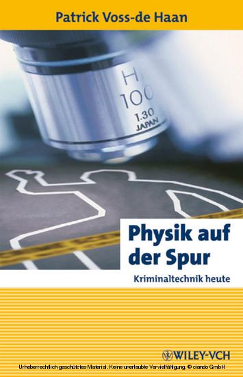 Physik auf der Spur - Blick ins Buch