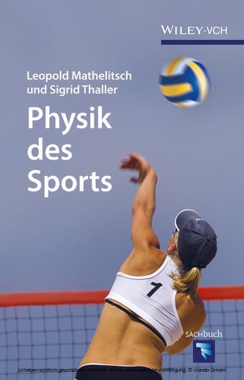 Physik des Sports - Blick ins Buch