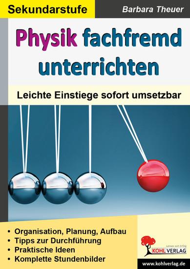 Physik fachfremd unterrichten - Blick ins Buch
