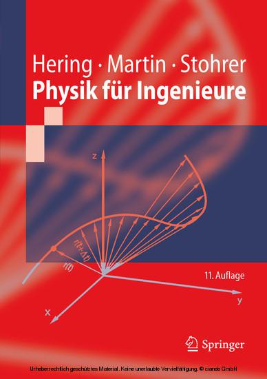 Physik für Ingenieure - Blick ins Buch