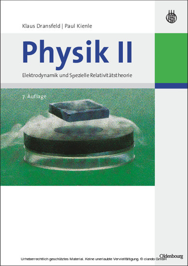 Physik II - Blick ins Buch