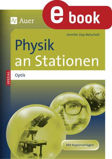 Physik an Stationen Spezial Optik - Blick ins Buch