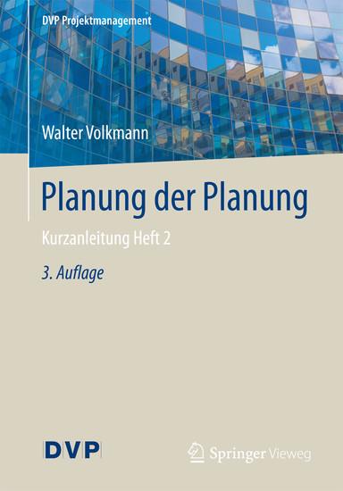 Planung der Planung - Blick ins Buch