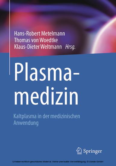 Plasmamedizin - Blick ins Buch