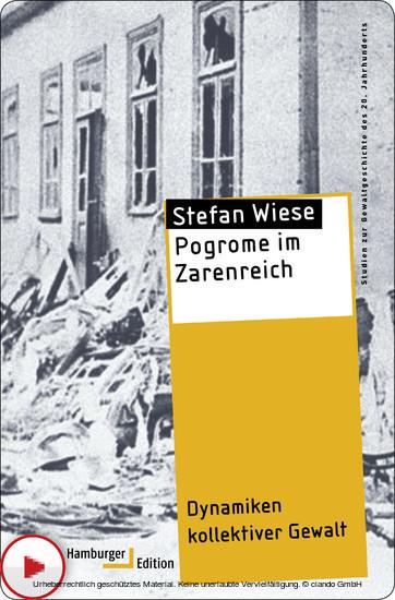 Pogrome im Zarenreich - Blick ins Buch