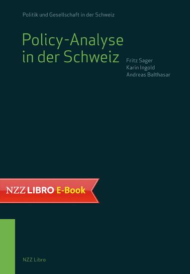 Policy-Analyse in der Schweiz - Blick ins Buch