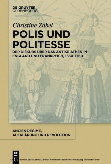 Polis und Politesse - Blick ins Buch