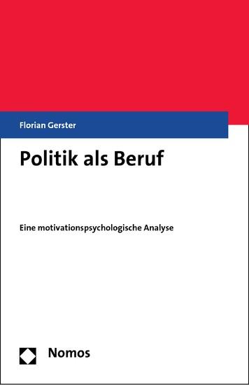 Politik als Beruf - Blick ins Buch
