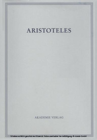 Politik - Buch VII und VIII - Blick ins Buch