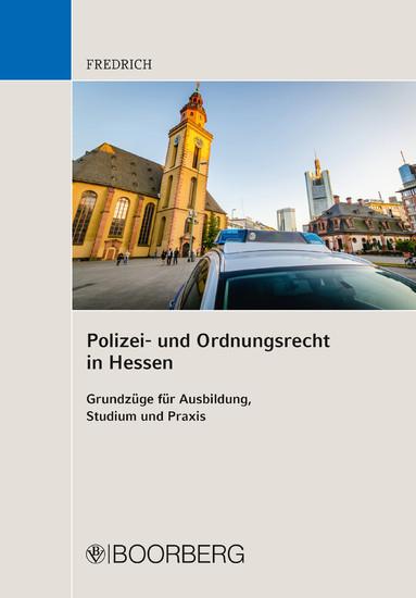 Polizei- und Ordnungsrecht in Hessen - Blick ins Buch