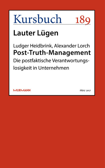 Post-Truth-Management - Blick ins Buch