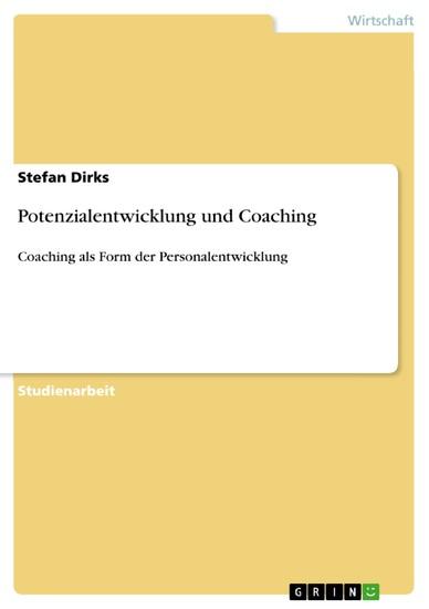 Potenzialentwicklung und Coaching - Blick ins Buch