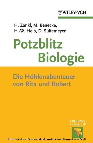 Potzblitz Biologie - Blick ins Buch