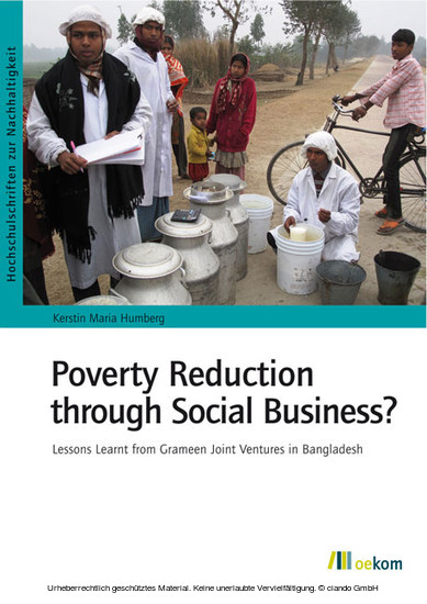 Poverty Reduction through Social Business? - Blick ins Buch
