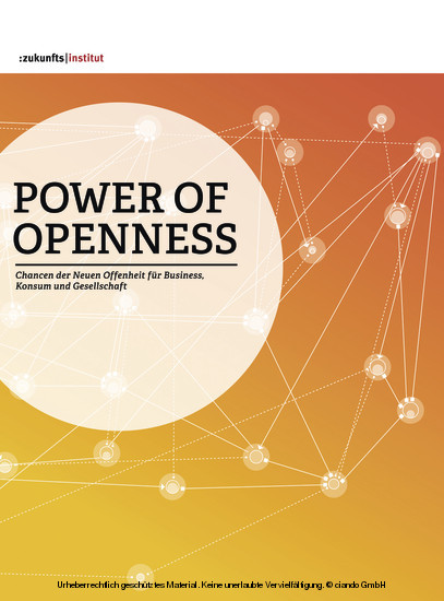 Power of Openess - Blick ins Buch
