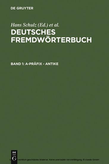 a-Präfix - Antike - Blick ins Buch