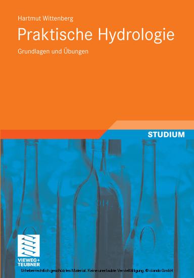 Praktische Hydrologie - Blick ins Buch