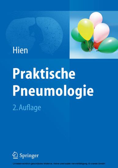 Praktische Pneumologie - Blick ins Buch