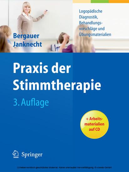 Praxis der Stimmtherapie - Blick ins Buch