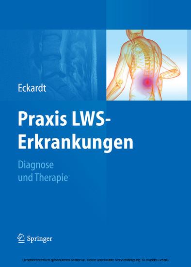 Praxis LWS-Erkrankungen - Blick ins Buch
