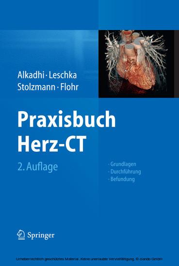 Praxisbuch Herz-CT - Blick ins Buch