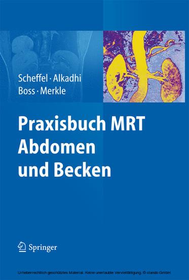 Praxisbuch MRT Abdomen und Becken - Blick ins Buch