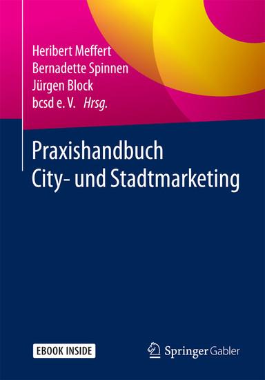 Praxishandbuch City- und Stadtmarketing - Blick ins Buch