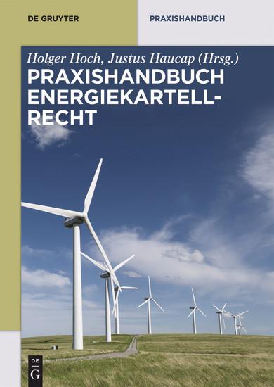 Praxishandbuch Energiekartellrecht - Blick ins Buch