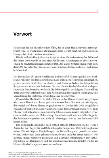 Praxishandbuch Pruritus - Blick ins Buch