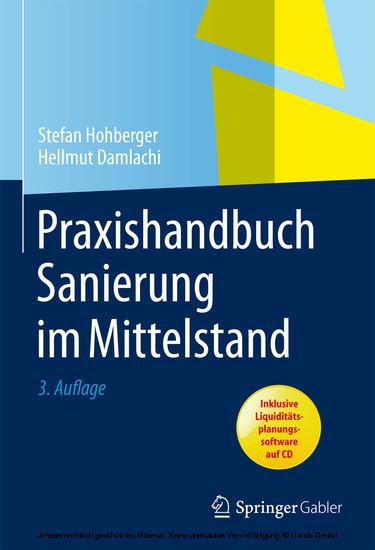 Praxishandbuch Sanierung im Mittelstand - Blick ins Buch