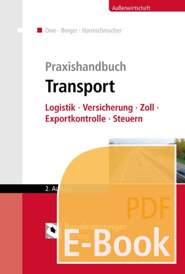 Praxishandbuch Transport (E-Book) - Blick ins Buch