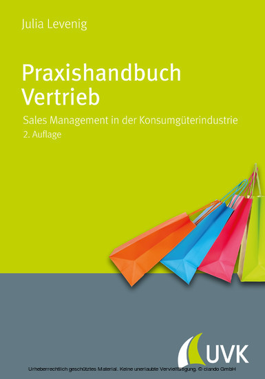 Praxishandbuch Vertrieb - Blick ins Buch