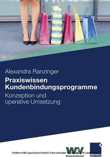 Praxiswissen Kundenbindungsprogramme - Blick ins Buch
