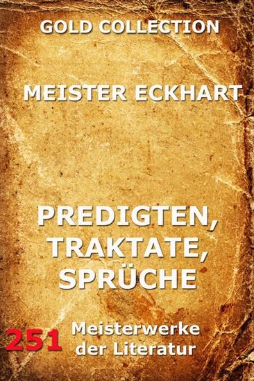 Predigten, Traktate, Sprüche - Blick ins Buch