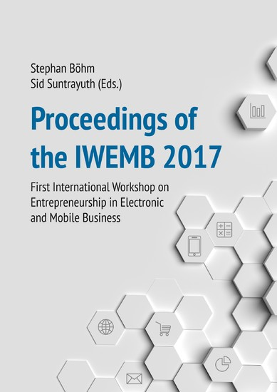 Proceedings of the IWEMB 2017 - Blick ins Buch