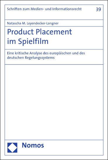 Product Placement im Spielfilm - Blick ins Buch