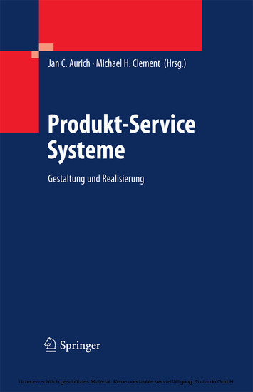 Produkt-Service Systeme - Blick ins Buch