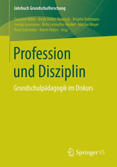 Profession und Disziplin - Blick ins Buch