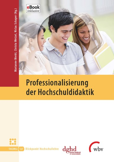 Professionalisierung der Hochschuldidaktik - Blick ins Buch
