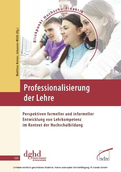 Professionalisierung der Lehre - Blick ins Buch